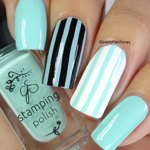 #69 April Showers - Nail Stamping color (5 Free Formula)