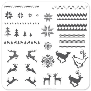Christmas Sweater (CjSC-02) - Steel Stamping Plate