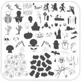 Hallo-Ween (CjSH-55) Steel Stamping Plate