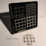 Perfectly Plaid (CjS-08) - Steel Stamping Plate
