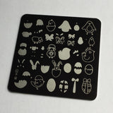 Easter 3 (CjSH-08) - Steel Stamping Plate