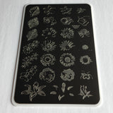 Full On Floral (CjSLC-16) - Steel Stamping Plate