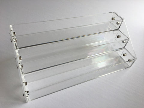 CjS Polish Rack - Table Top, Clear Acrylic (Polish not included)