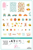 Talia's Pumpkin Patch (CjS LC-57) Steel Stamping Plate