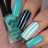 #97 Oceanside - Nail Stamping Color (5 Free Formula)