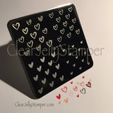 Super Cute Hearts (CjS V-02) - Steel Stamping Plate