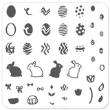 Peter Cottontails Easter Eggs (CjSH-02) - Steel Stamping Plate