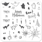 Halloween - Trick OR Treat (CjSH-04) - Steel Stamping Plate