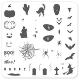 Halloween - Boo! (CjSH-06) - Steel Stamping Plate