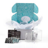 Big Bling Custom Kit - Jelly Stamper, Replacement Jelly & 4 - 6x6 Steel Stamping Plates