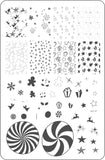 Pretty Paper - Candied (CjS C-27) Steel Stamping Plate