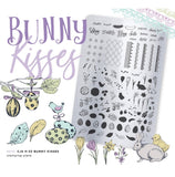 Bunny Kisses (CjS H-29) Steel Stamping Plate