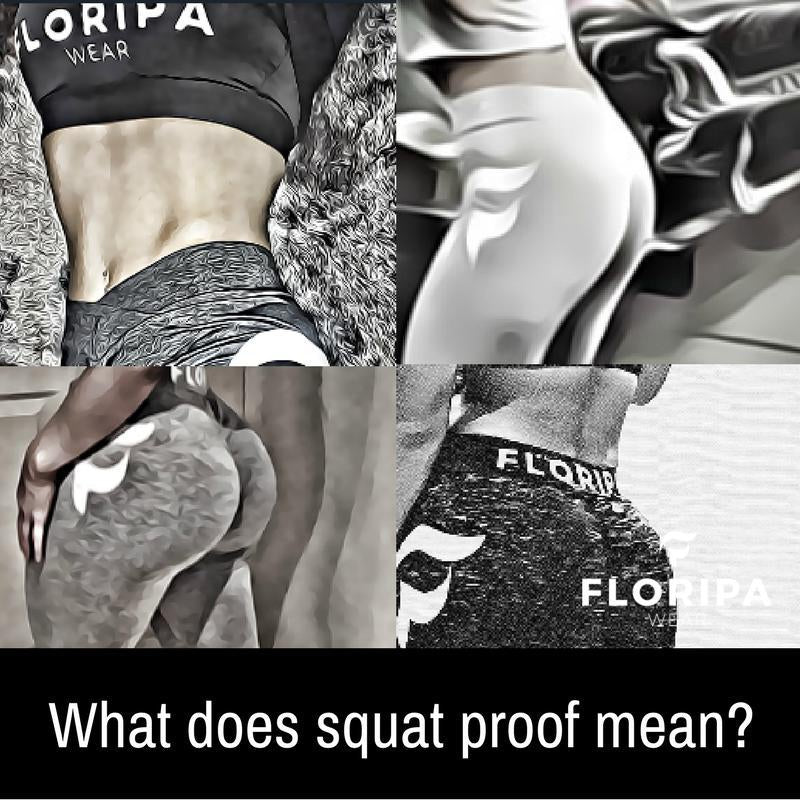 What does squat proof mean?