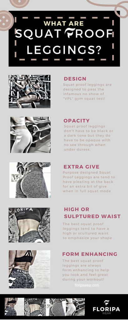 What are squat proof leggings [infographic]?