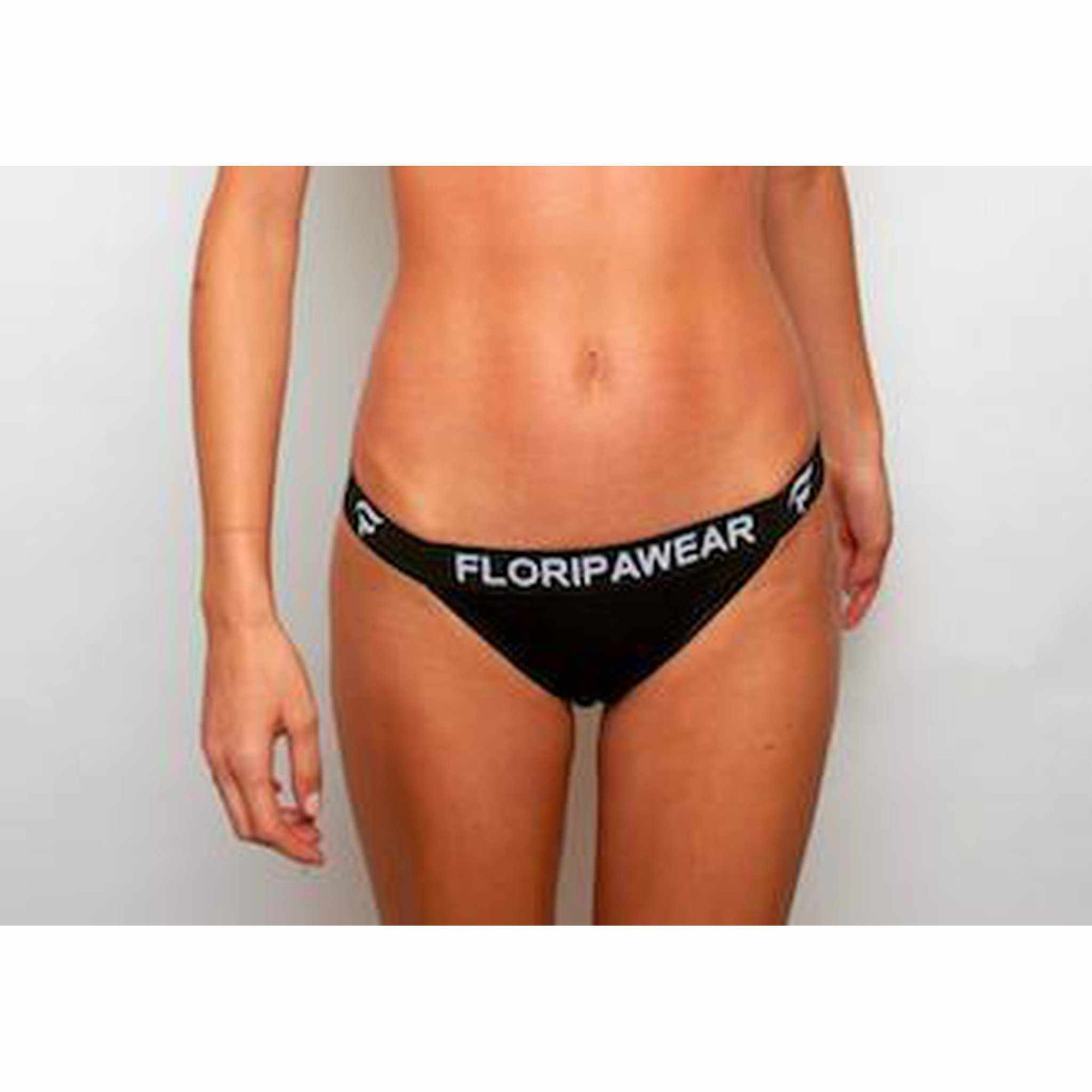 Ethical Underwear UK Noite Black Thong - floripawear