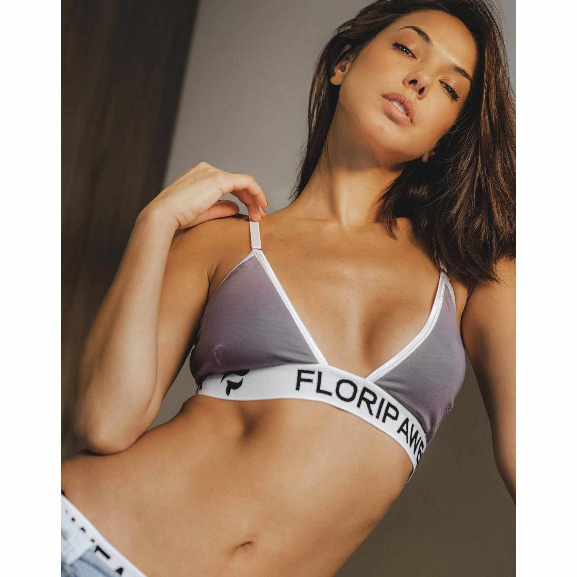 Luxury Lingerie Sports Underwear Bra & Briefs Set || Salvador Sunset - floripawear