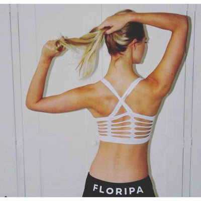 Ribbed Back Running Top-Running-Floripawear