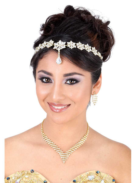 Star Frontal Gold Headpiece