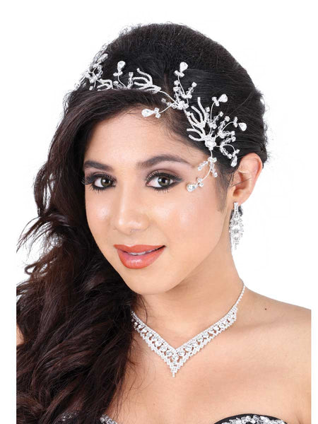Simple Diamond Headpiece