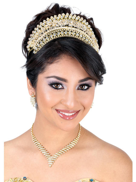 Gold Studded Crown