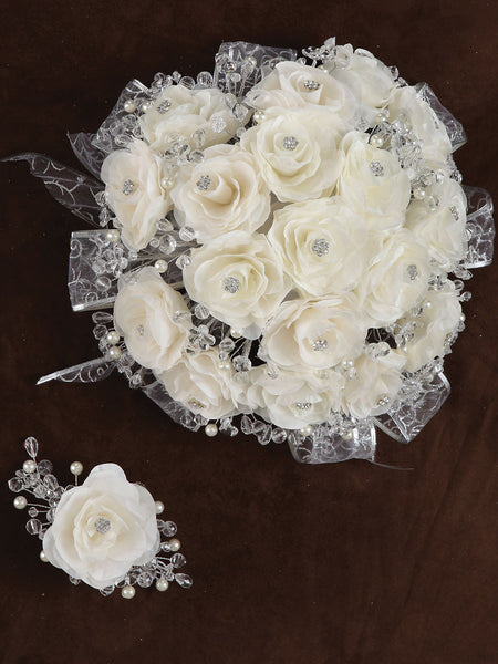Rose Bouquet Ivory