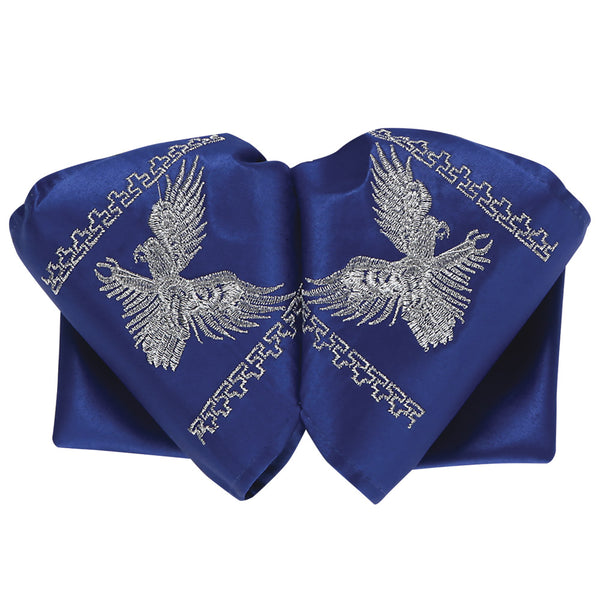 Royal Blue Eagle Charro Bow