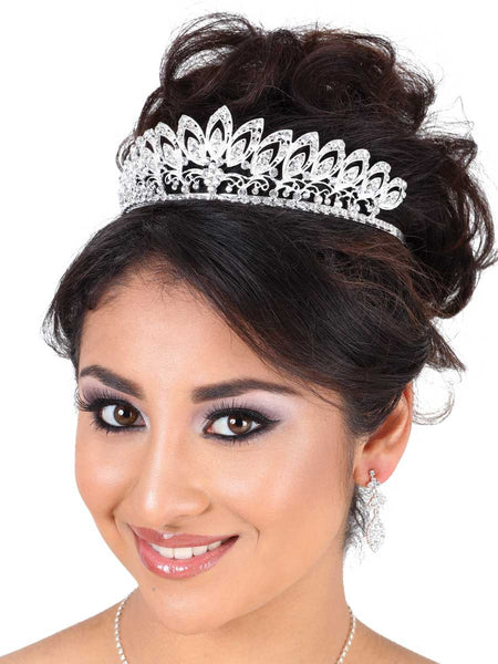 Silver Teardrop Crown