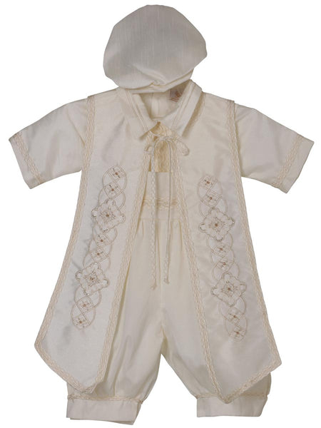 Little Boy Baptism One Piece