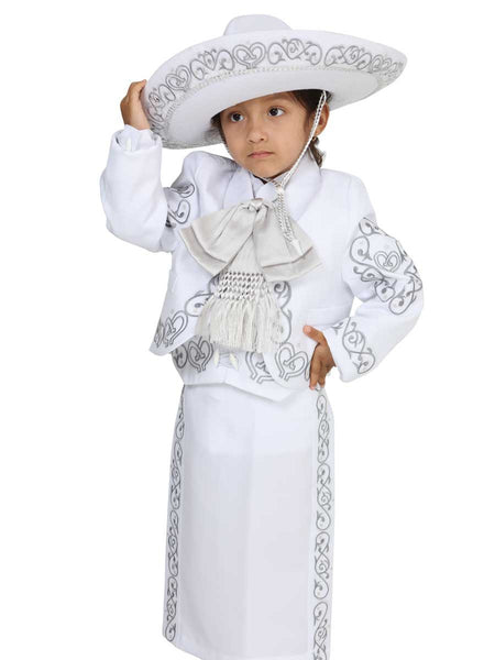 Little Girl Traditional Mexican Charro Suit