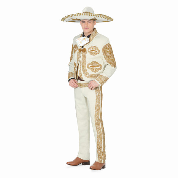 Ivory & Gold Grecado Charro Suit
