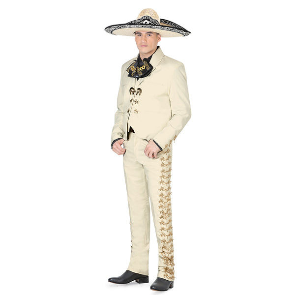 Ivory & Gold Charro Suit