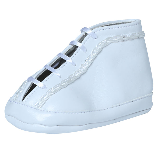 White Lace Baby Shoe