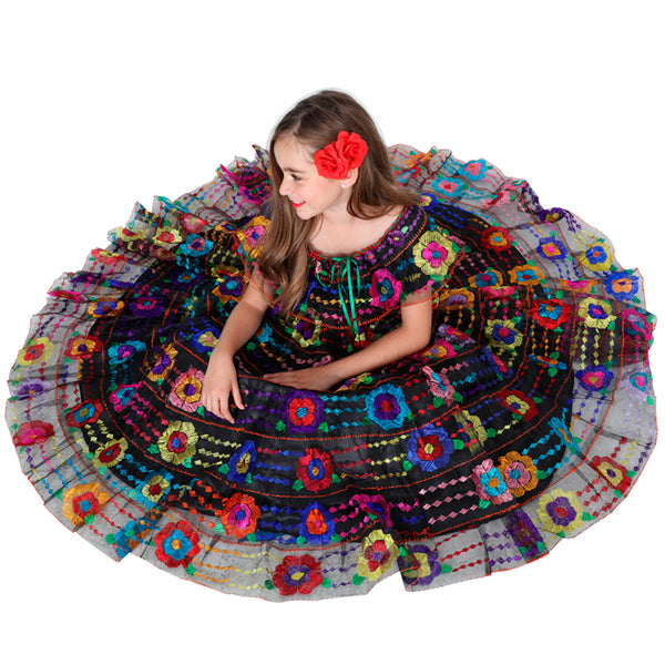 Little Girl Chiapaneco Dress