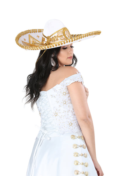 Charro Lace Wedding Dress