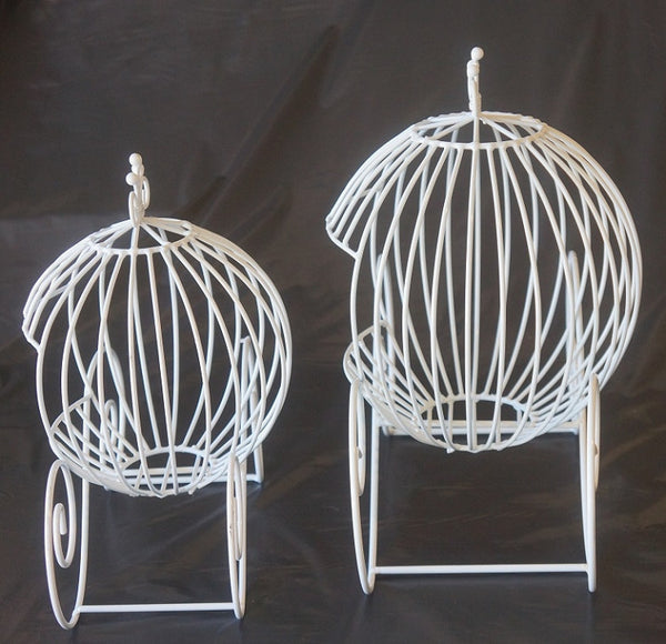 Wire Cinderella Carriage