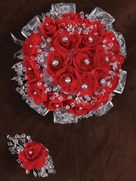 Rose Bouquet Red