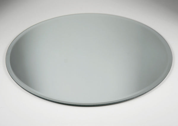 Round Glass Table Mirror