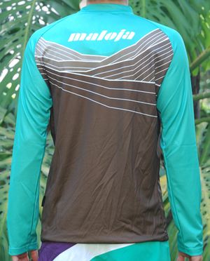 Freeride Shirt 1/1 - Delta - Peacock - S