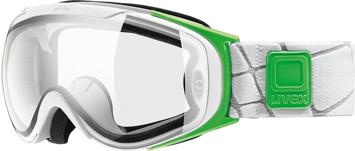 uvex g.gl 9 Recon Ready Goggles - white mat dl/lclear sp