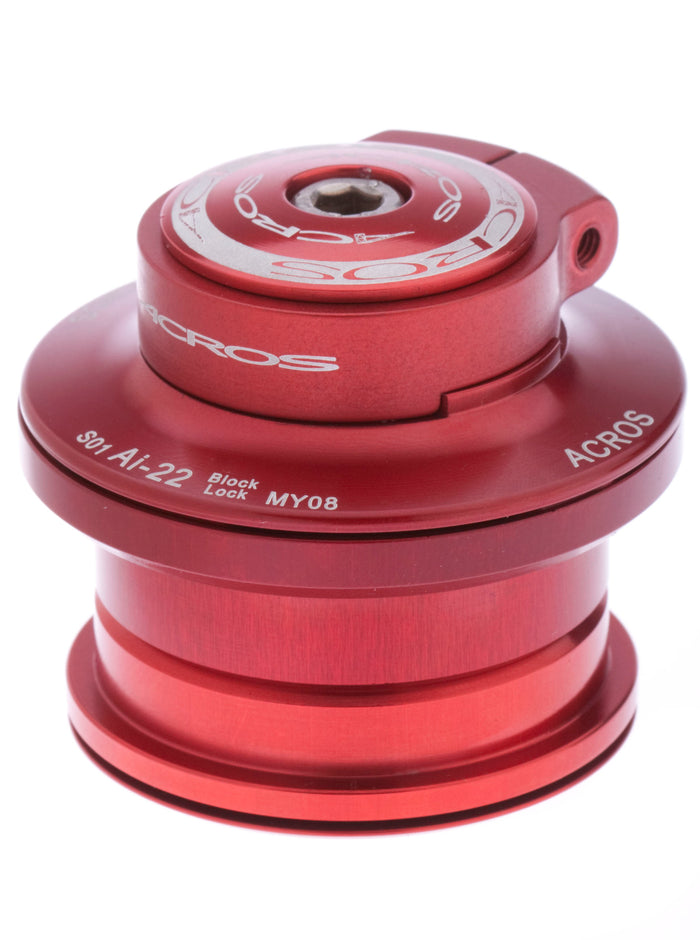 Block-Lock, semi, [S], red - STAINLESS , R3 - MESO - 117 gr.