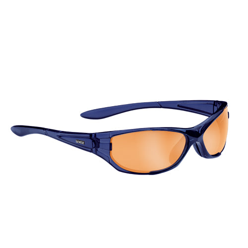 LENTE DE SOL UVEX CRACK DARK BLUE