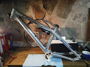 301  M MK12, 27.5 work finish-140mm, RockShox Monarch DEMO