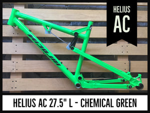 "Helius AC 27.5"" L - Chemical Green"