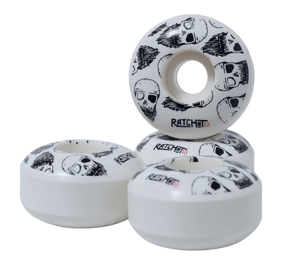 Ratchet Skulls Skateboard wheels - 53mm 100a