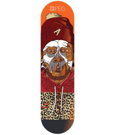 Peg Skateboard Deck 8.125 - Cannon