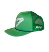 Trucker Cap Flat Peak - Green D1