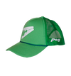 Trucker Cap Bent Peak - Green D1