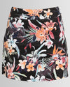 Peg Gemma Mini Skirt Floral Print Black