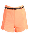 Ladies Neon Shorts Orange