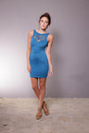Ladies Front cut-out dress